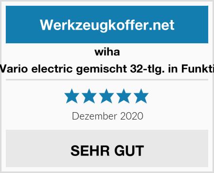 wiha 43465 slimVario electric gemischt 32-tlg. in Funktionstasche Test