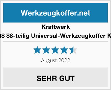 Kraftwerk 1048 88-teilig Universal-Werkzeugkoffer KWJ Test