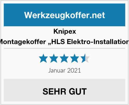 "Knipex Montagekoffer ""HLS Elektro-Installation"" Test"