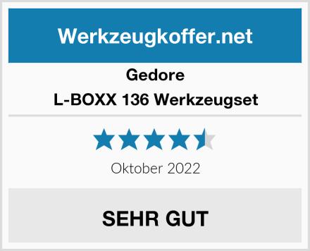 Gedore L-BOXX 136 Werkzeugset Test
