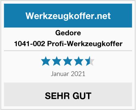 Gedore 1041-002 Profi-Werkzeugkoffer Test