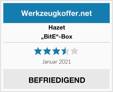 "Hazet ""BitE""-Box Test"