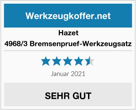 Hazet 4968/3 Bremsenpruef-Werkzeugsatz Test