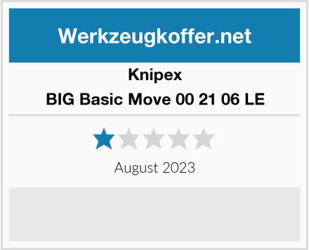 Knipex BIG Basic Move 00 21 06 LE Test