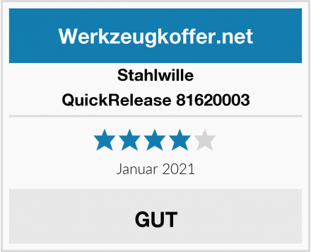Stahlwille QuickRelease 81620003 Test