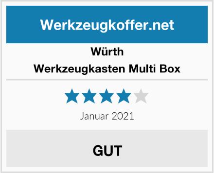 Würth Werkzeugkasten Multi Box Test