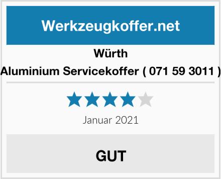Würth Aluminium Servicekoffer ( 071 59 3011 ) Test
