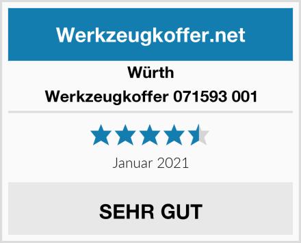 Würth Werkzeugkoffer 071593 001 Test