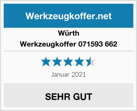 Würth Werkzeugkoffer 071593 662 Test