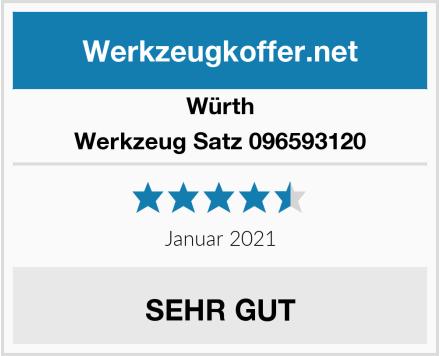 Würth Werkzeug Satz 096593120 Test