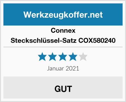 Connex Steckschlüssel-Satz COX580240 Test
