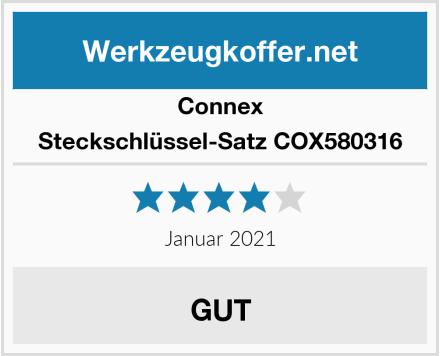 Connex Steckschlüssel-Satz COX580316 Test