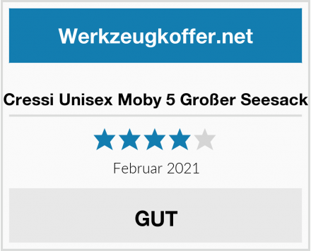 Cressi Unisex Moby 5 Großer Seesack Test