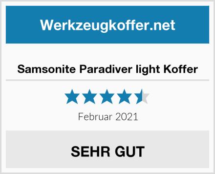 Samsonite Paradiver light Koffer Test
