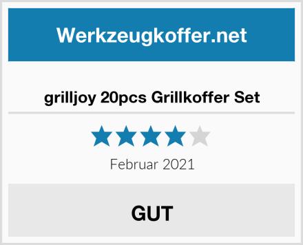 grilljoy 20pcs Grillkoffer Set Test