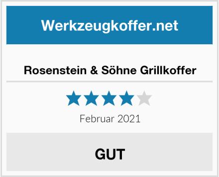 Rosenstein & Söhne Grillkoffer Test