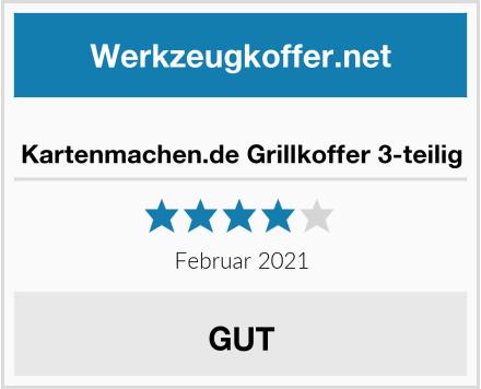 Kartenmachen.de Grillkoffer 3-teilig Test