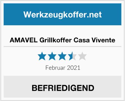 AMAVEL Grillkoffer Casa Vivente Test