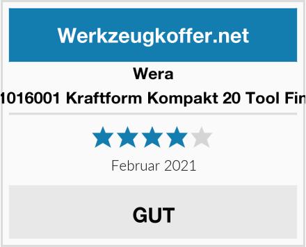 Wera 05051016001 Kraftform Kompakt 20 Tool Finder 1 Test