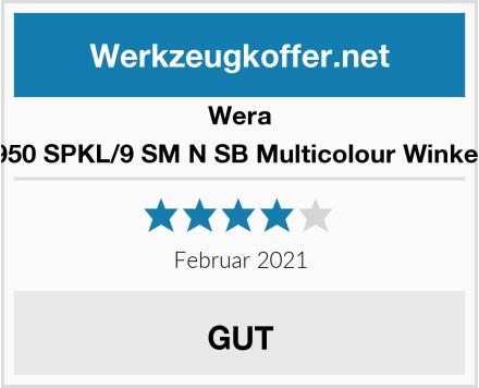 Wera 05073593001 950 SPKL/9 SM N SB Multicolour Winkelschlüsselsatz Test