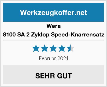 Wera 8100 SA 2 Zyklop Speed-Knarrensatz Test