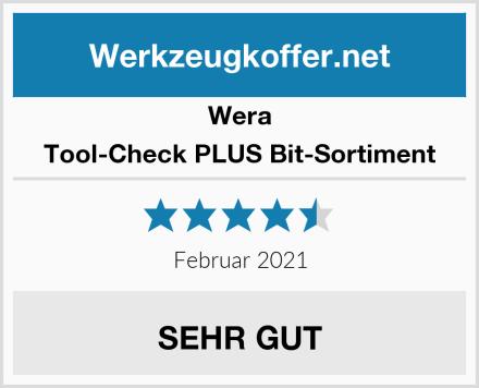 Wera Tool-Check PLUS Bit-Sortiment Test