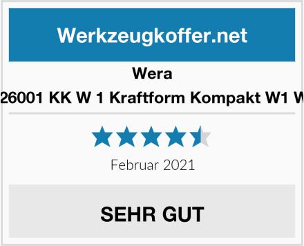 Wera 05135926001 KK W 1 Kraftform Kompakt W1 Wartung Test