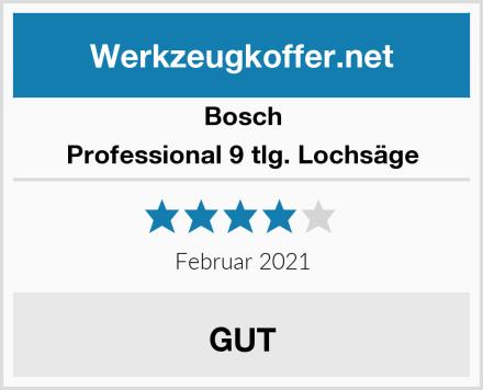 Bosch Professional 9 tlg. Lochsäge Test
