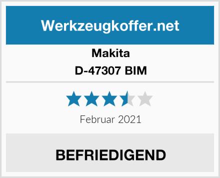 Makita D-47307 BIM Test