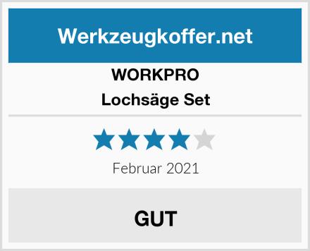 WORKPRO Lochsäge Set Test