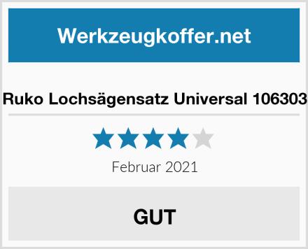 Ruko Lochsägensatz Universal 106303 Test
