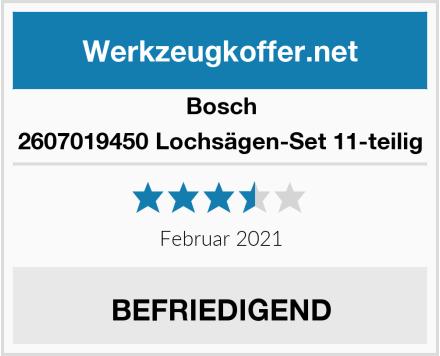Bosch 2607019450 Lochsägen-Set 11-teilig Test