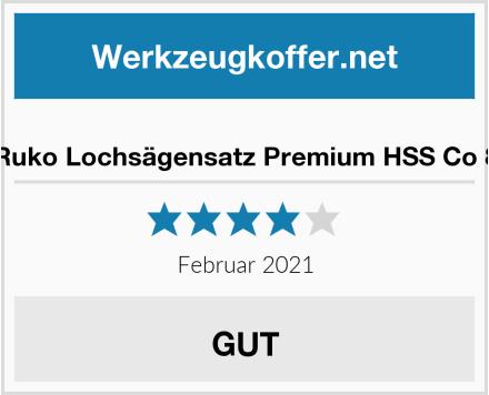 Ruko Lochsägensatz Premium HSS Co 8 Test