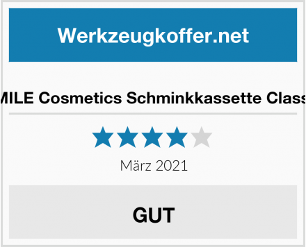 ZMILE Cosmetics Schminkkassette Classic Test
