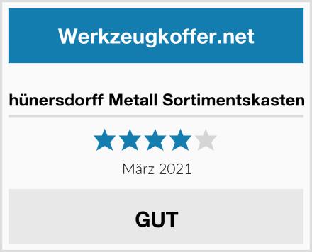 hünersdorff Metall Sortimentskasten Test