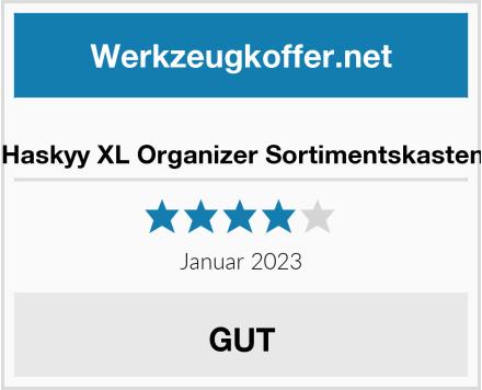 Haskyy XL Organizer Sortimentskasten Test