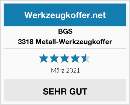 BGS 3318 Metall-Werkzeugkoffer Test
