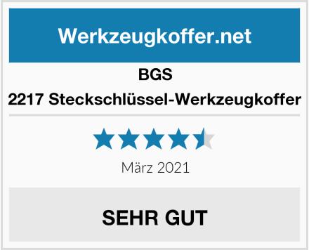 BGS 2217 Steckschlüssel-Werkzeugkoffer Test
