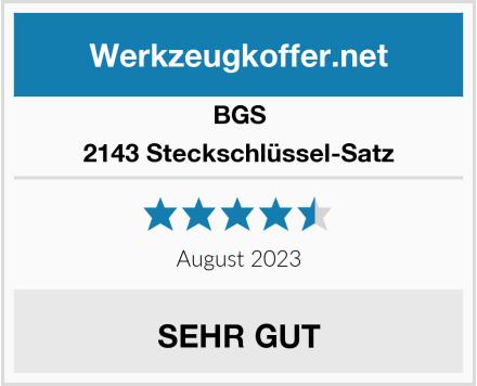 BGS 2143 Steckschlüssel-Satz Test