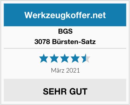 BGS 3078 Bürsten-Satz Test