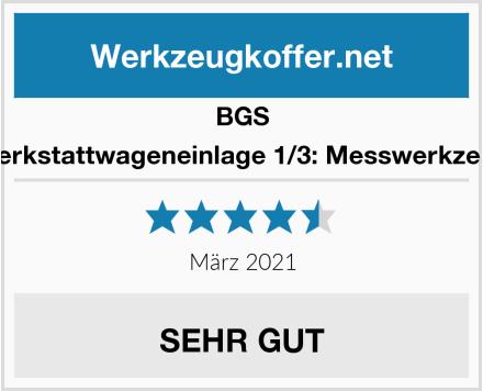 BGS 4031 Werkstattwageneinlage 1/3: Messwerkzeug-Satz Test