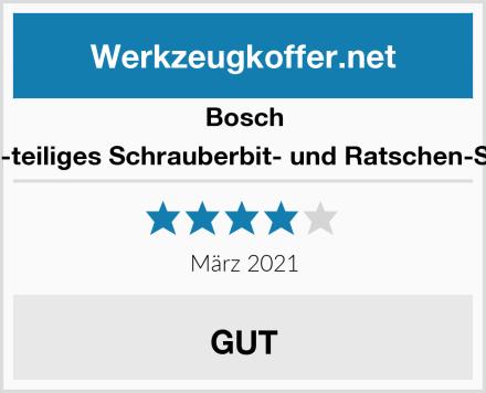 Bosch 26-teiliges Schrauberbit- und Ratschen-Set Test