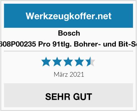 Bosch 2608P00235 Pro 91tlg. Bohrer- und Bit-Set Test