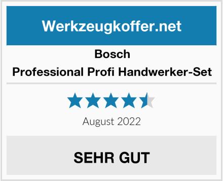 Bosch Professional Profi Handwerker-Set Test