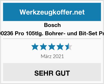 Bosch 2608P00236 Pro 105tlg. Bohrer- und Bit-Set Premium Test