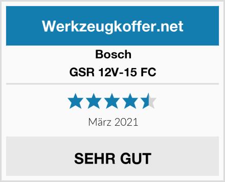 Bosch GSR 12V-15 FC Test