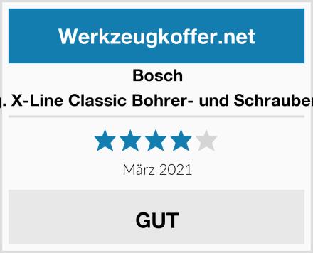 Bosch 54tlg. X-Line Classic Bohrer- und Schrauber-Set Test