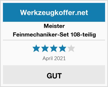 Meister Feinmechaniker-Set 108-teilig Test