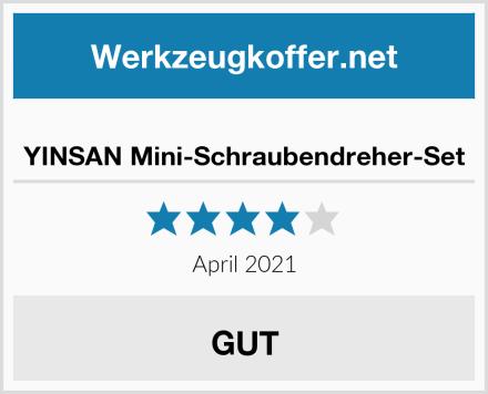 YINSAN Mini-Schraubendreher-Set Test
