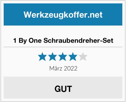 1 By One Schraubendreher-Set Test